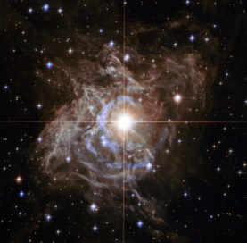A Hubble Space Telescope image of a variable star called RS Puppis.  Credit: Scientific American