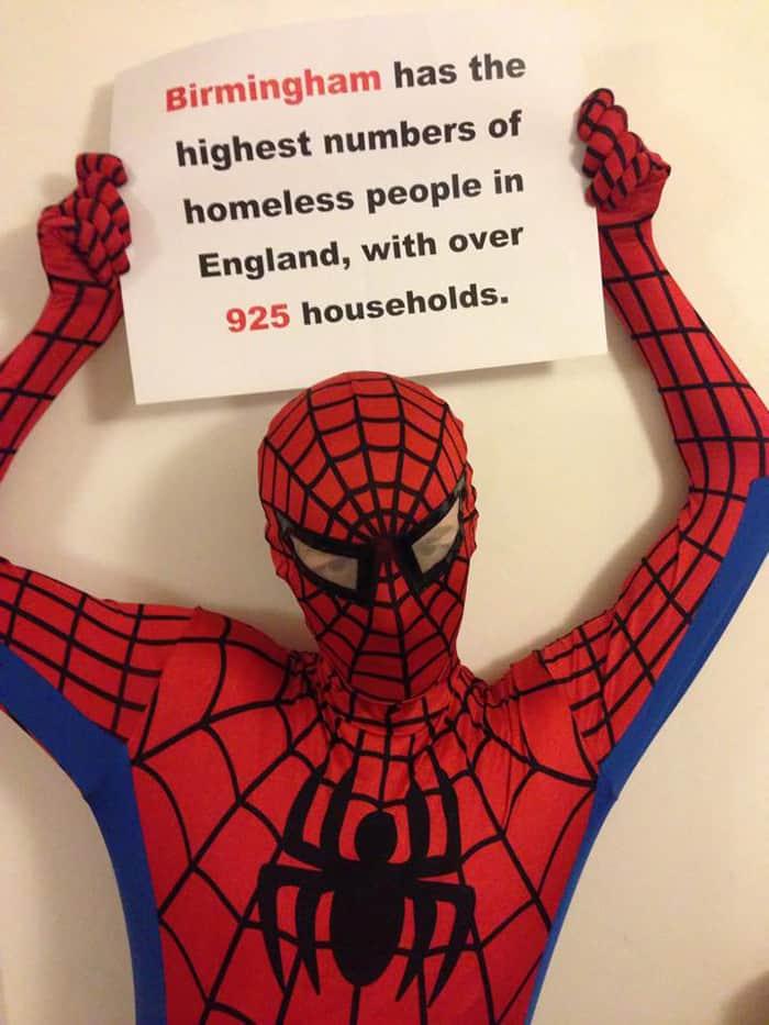 Credit: Credit: Birmingham Spider-Man