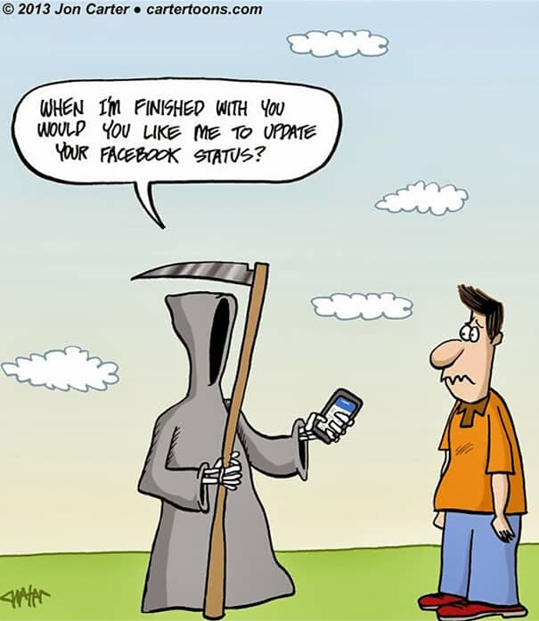 These 30 Cartoons Illustrate How Smartphones Are The