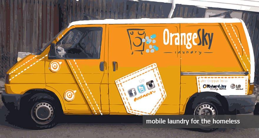Credit: Orange Sky Laundry