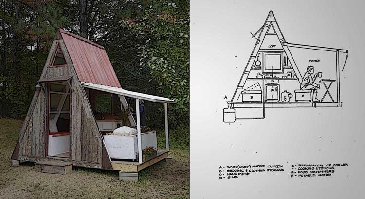 Astounding This Incredible Diy Tiny Home Only Costs 1 200 To Build True Inspirational Interior Design Netriciaus