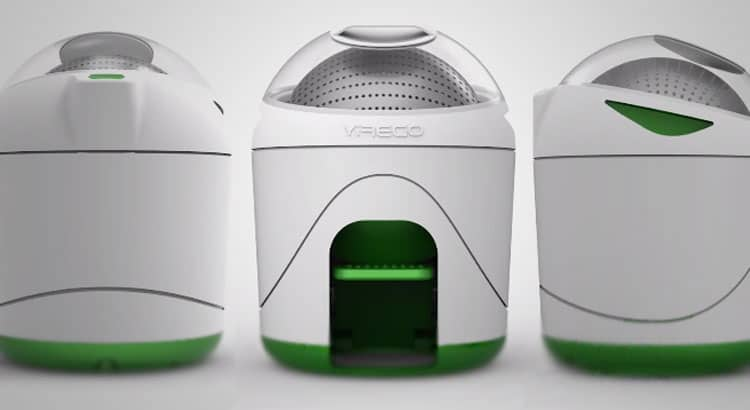A New Foot Powered Washing Machine To Clean Your Clothes
