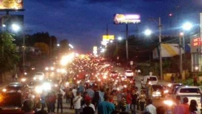 Thousands Take To The Streets In Honduras To Demand President's Resignation