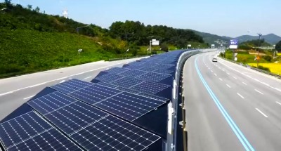South Korea Has A 20 Mile Solar Bike Lane Providing Electricity To Nearby Areas