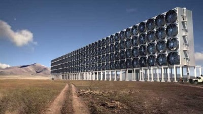 This Mega-Structure Sucks CO2 Emissions Out of Thin Air