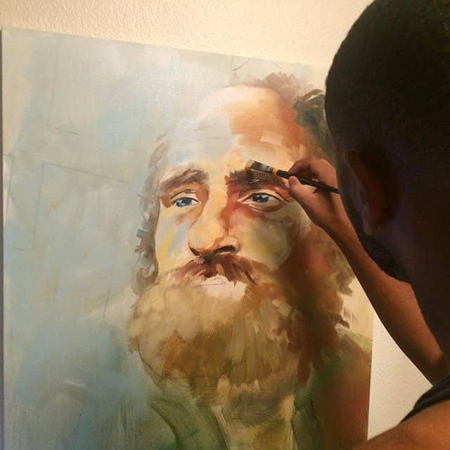 painting Matthew