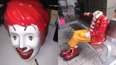 Ronald McDonald Statue Decapitated In Chicago, And This Has Happened Before…