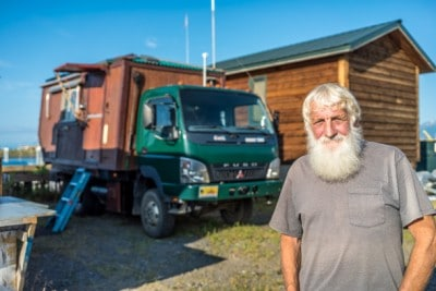 75 Year-Old Man Travels World In This Awesome House Truck