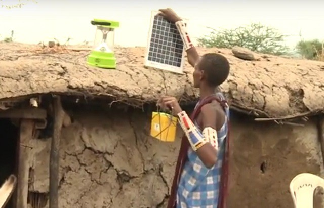 Maasai Women Are Installing Solar Panels And Bringing