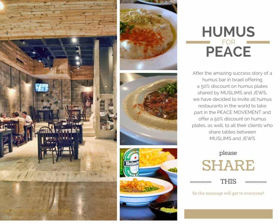 Credit: Hummus Bar Facebook