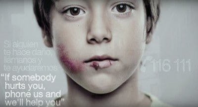 Clever Ad Visible Only To Children Offers Hope To Victims Of Abuse