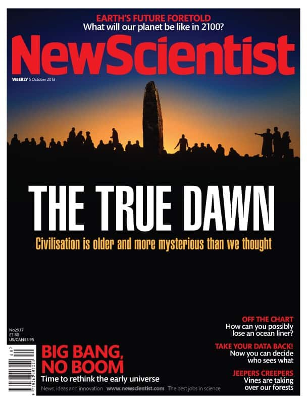 New Scientist's admission, 10 years later, that Hancock may have had a point
