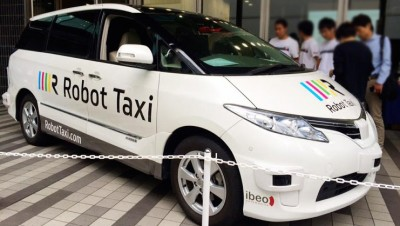 Self-Driving Taxis To Hit The Streets Of Japan Next Year