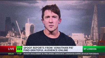 """Parody Newsreader Jonathan Pie On His Hilarious Viral Videos: """"It's Funny Cos It's True"""""""