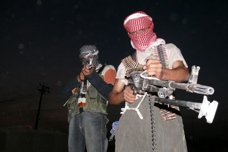 Anti-American insurgents in Iraq. Credit: Wikipedia, CC license
