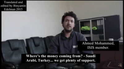 Must Watch: ISIS Militant Says Western Allies Are Friends Of Terror Group