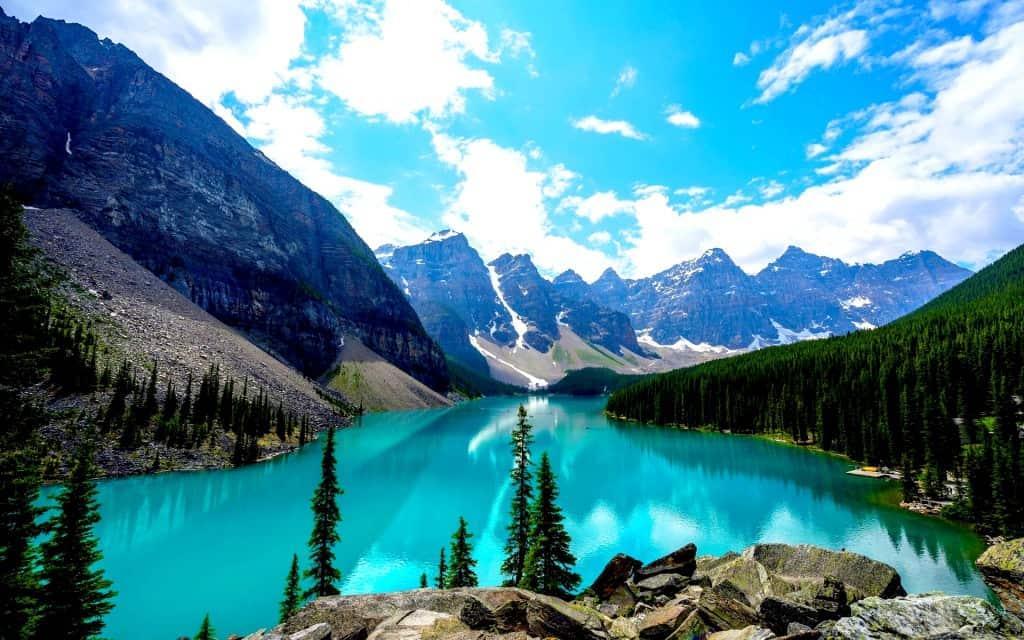 Banff National Park in Canada Credit: CanadianImmigrant.CA
