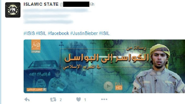 ISIS bieber