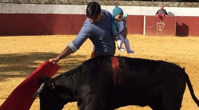 This Bullfighter Has A Take On Parenting, And It's Causing A Stir