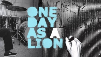 One Day As A Lion Album Cover