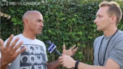 Surf Legend Kelly Slater Says Vote Nobody 2016, Investigate 9/11 And Screw Monsanto!