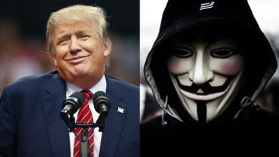 First Attack: Anonymous Leaks Trump's Social Security Number, Private Personal Info