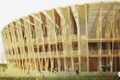 Bamboo Stadium Designs Could Make Stainless Steel Obsolete