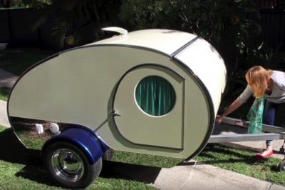 You Won't Believe All Of The Awesome Features This Tiny Camper Is Hiding [Watch]