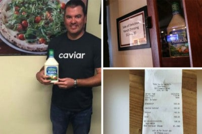 The Reason This Man Bought A Bottle Of Ranch For $1,000 Is Actually Really Sweet