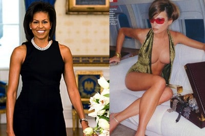 Conservatives Criticize Michelle Obama For Bare Arms, Stay Silent On Melania Trump's Nude Poses