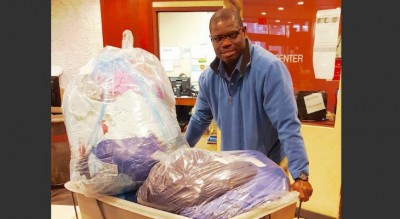 Laundromat Owner Does 5,000 Pounds Of FREE Laundry For Homeless Families