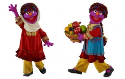 Sesame Street Adopts Hijab-Wearing Girl Muppet To Promote Women's Rights