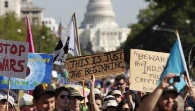 Massive Protest In D.C. Results In Hundreds Of Arrests, Media Stays Silent