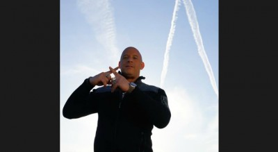 Did Vin Diesel Just Point Out Chemtrails On Social Media?