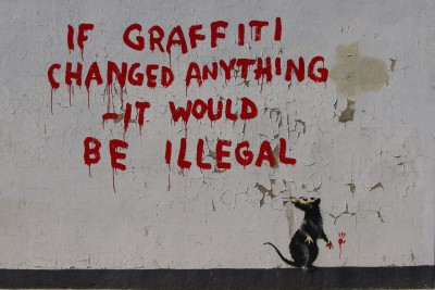 Has Banksy Become A Product Of The System He Hates?