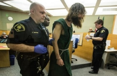 Schizophrenic Man Held On $50,000 Bail For Climbing A Tree