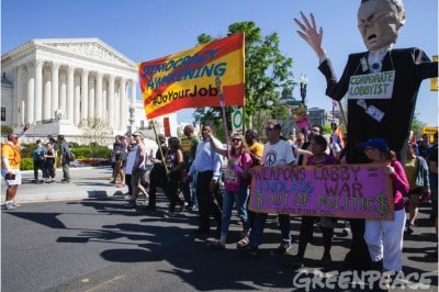 Breaking: Greenpeace Executive Director Arrested In D.C. During Non-Violent Protest