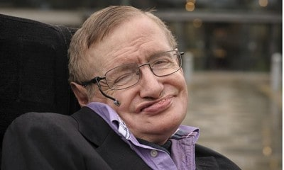 Stephen Hawking Has An Inspiring Message For Anyone Who Suffers From Depression [Watch]