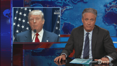 Jon Stewart Takes A Break From Retirement To Warn America About Donald Trump [Watch]