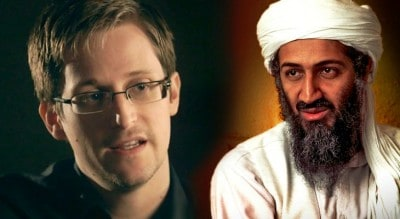 "Edward Snowden: Osama Bin Laden Is ""Alive And Well In The Bahamas"""
