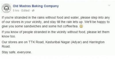 Credit: Old Madras Baking Company