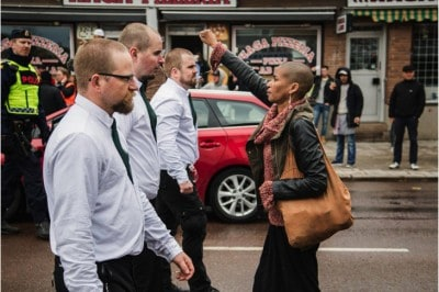 One Woman Stood Up To 330 Neo-Nazis And Is Now The Face Of Anti-Fascism In Sweden