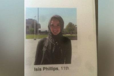 "High School Yearbook Misidentifies Muslim Student As ""Isis"" In A Caption"