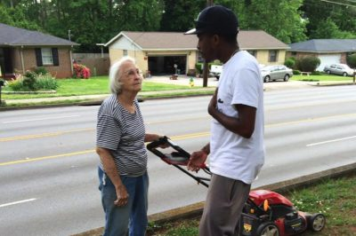 "College Student ""Raises Men"" By Providing Free Lawn Care To The Elderly And Disabled"