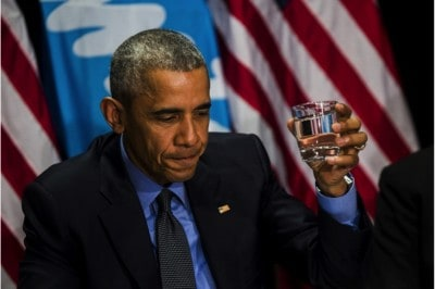 What Obama Had To Say After Drinking Flint's Water Is Disappointing