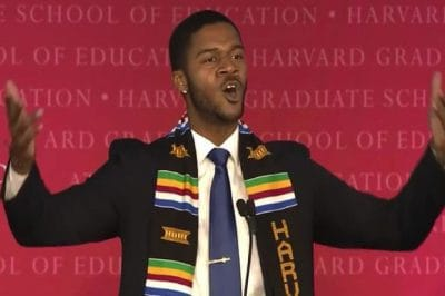 This Harvard Grad's Spoken Word Speech Will Leave You Speechless [Watch]