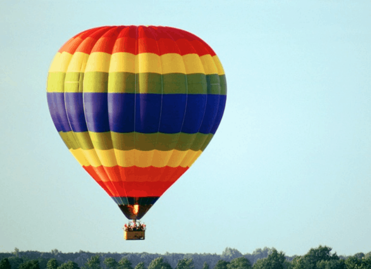 1. Ride A Hot Air Balloon