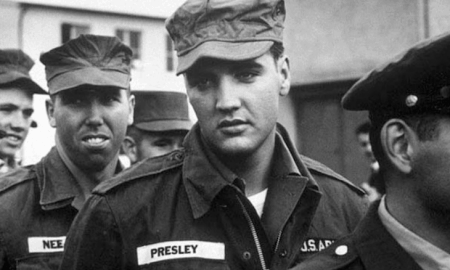 37. Elvis Presley in the Army