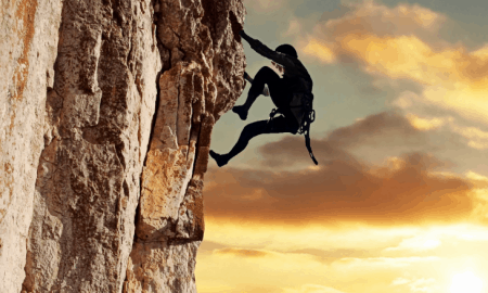 55. Have a Rock Climbing Adventure