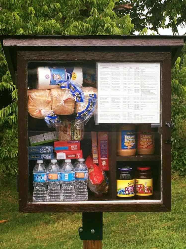 Little Free Pantries Ensure No One Goes Hungry By